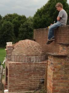 Pizza Oven dome complete